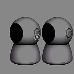 DOPHIGO 1080P HD Dome 360° Wireless WiFi Baby Monitor Safety Home