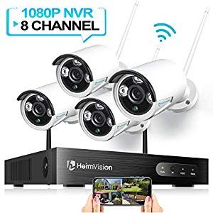 HisEEu [Expandable 8CH]Wireless Security Camera System