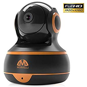 M MORVELLI [New 2019] FullHD 1080p WiFi Home Security Camera